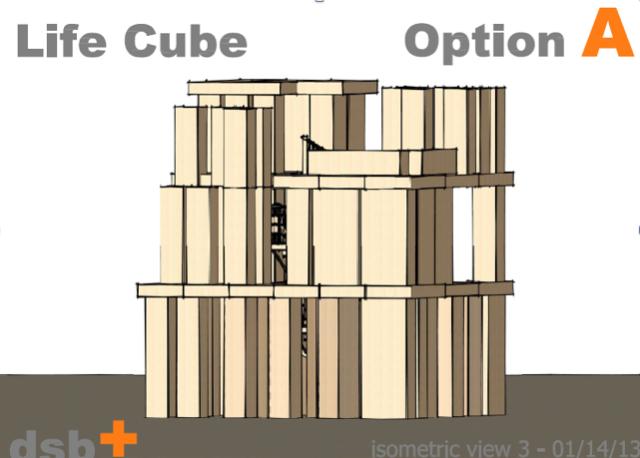 Plans for Black Rock City Installation Burning Man 2013