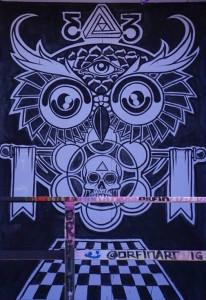 JT Owl Art