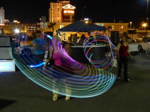 Night Glowing Hula Dancers