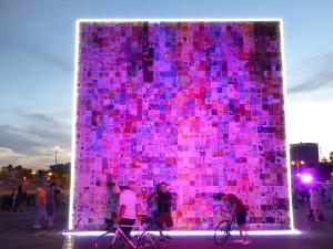 Tap Wall Pink light