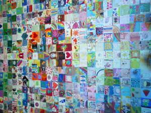 Tap Wall detail heart